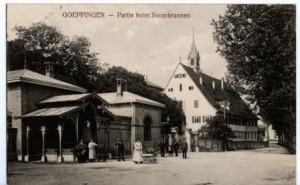 Der Sauerbrunnen am Christofsbad