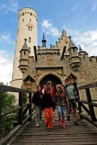 Zugbrücke Schloss Lichtenstein