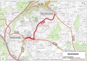K 1435 Los 02 Hohenstadt, Karte