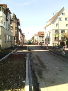 Sperrung Stuttgarter Strasse