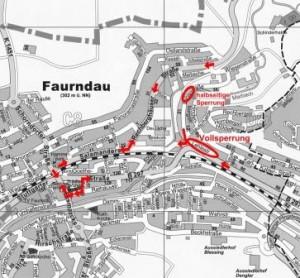 Straßenunterhaltungsmaßnahmen in der Lehlestraße in Faurndau
