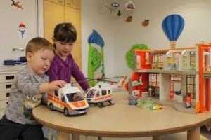 Playmobil Spiel-Spende für die Kinderklinik