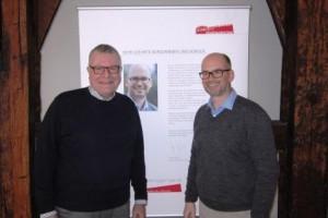 Prof. Doderer und OB Dehmer