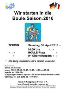 Boule-Saison eröffnen_2016