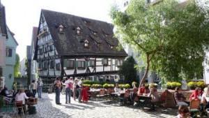 Romantisches Fischerviertel in Ulm