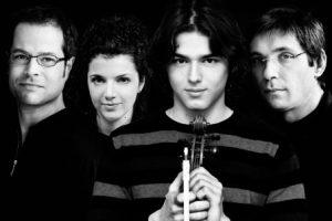 Delian Quartett gibt Meisterkonzert