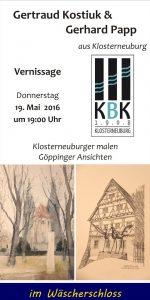 Klosterneuburger Künstler im Wäscherschloss