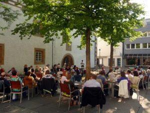 Sommerlesung auf dem Kornhausplatz